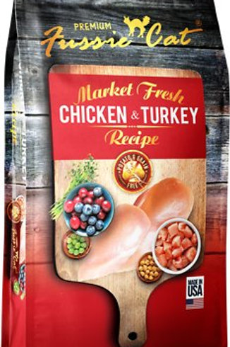 Fussie Cat Grain Free Chicken & Turkey Dry Cat Food