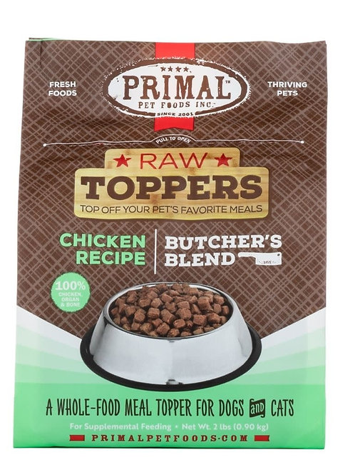 Primal Butchers Block Topper Chicken