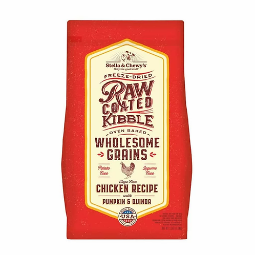Stella & Chewy's Raw Coated Kibble Chicken with Grains