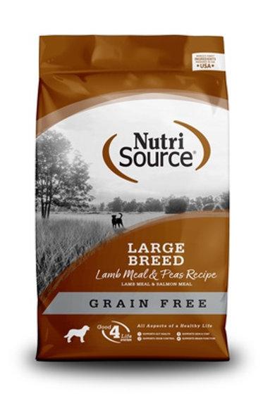 NutriSource Grain Free Large Breed Lamb Dry Dog Food