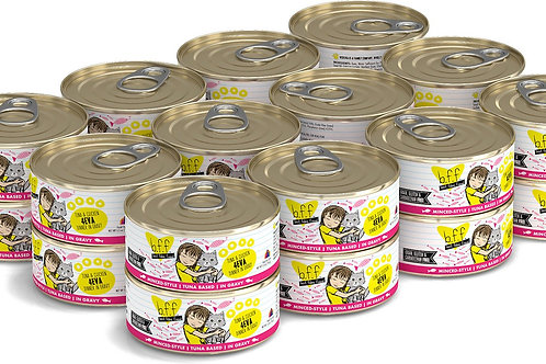 BFF 4EVA Tuna & Chicken Canned Cat Food, 5.5-oz, case of 24