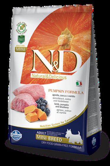 Farmina N&D Pumpkin Lamb & Blueberry Adult Mini Dog Dry Food