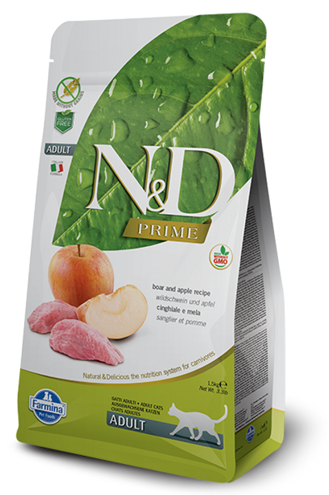 Farmina N&D Prime Boar & Apple Dry Cat Food