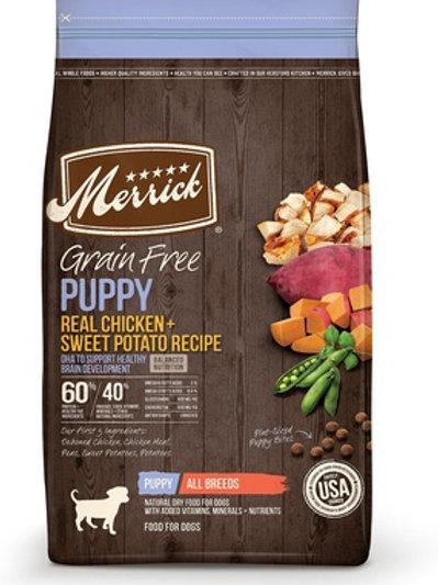 Merrick Grain Free Puppy Chicken & Sweet Potato Dry Dog Food