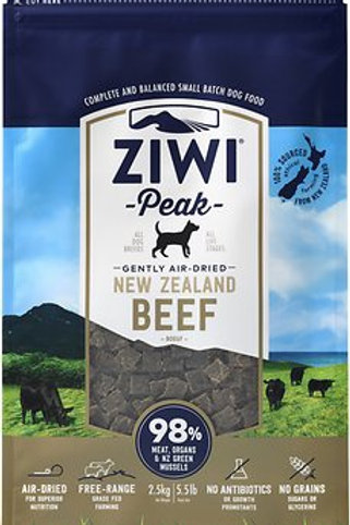 Ziwi Peak Dog Beef Recipe Grain Free Air-Dried Dog Food