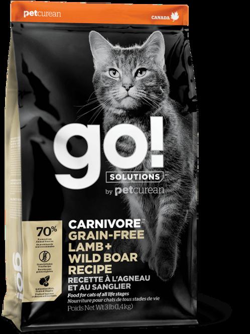 Petcurean Go! Grain Free Lamb + Boar Dry Cat Food
