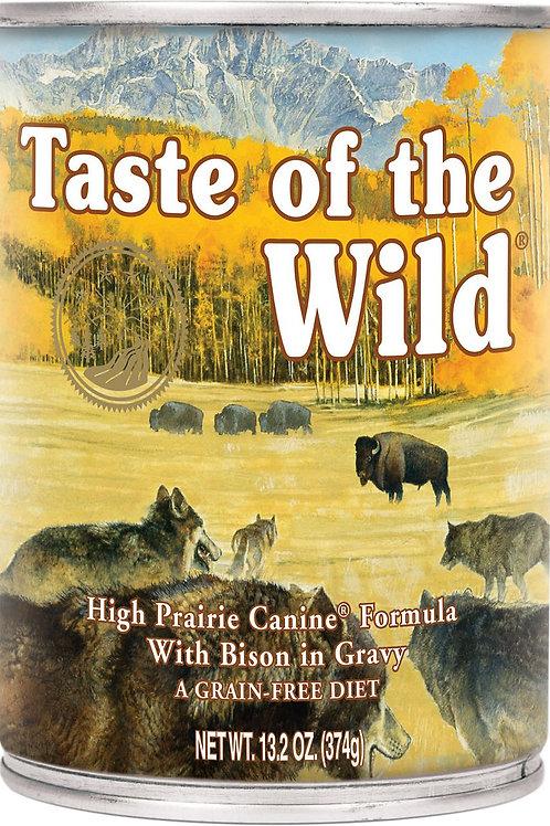 Taste of the Wild High Prairie Grain-Free Canned Dog Food, 13.2-oz, case of 12
