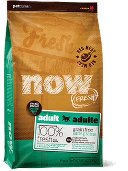 Petcurean Now Grain Free Small Breed Adult Red Meat Dry Dog Food
