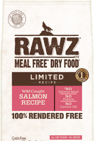 RAWZ Meal Free Limited Ingredient Wild Caught Salmon Dry Dog Food