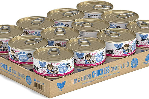 BFF Chuckles Tuna & Chicken , 5.5oz, case of 24