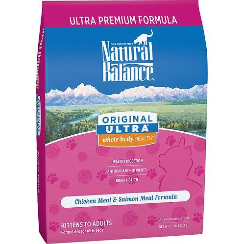 Natural Balance Original Ultra Chicken & Salmon Dry Cat Food