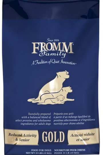 Fromm Gold Reduced Activity and Senior Dry Dog Food