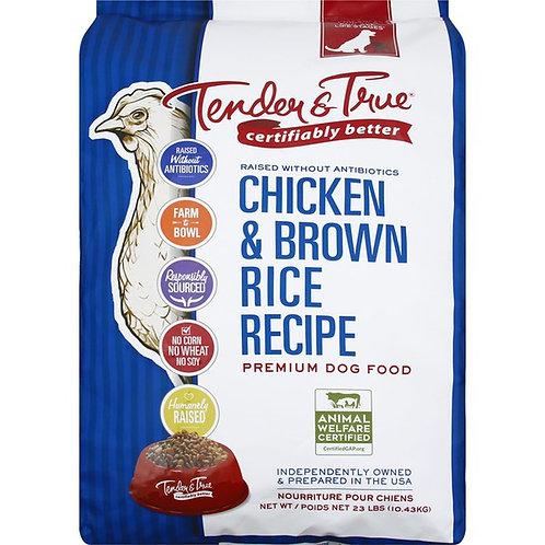 Tender & True Chicken & Brown Rice Dry Dog Food