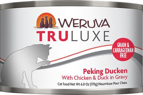 Weruva Truluxe Peking Ducken Canned Cat Food, 6oz, case of 24