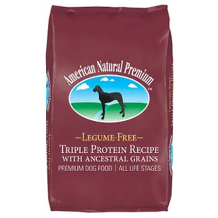 American Natural Premium Triple Protein Recipe with Ancestral Grains Dry Dog Foo