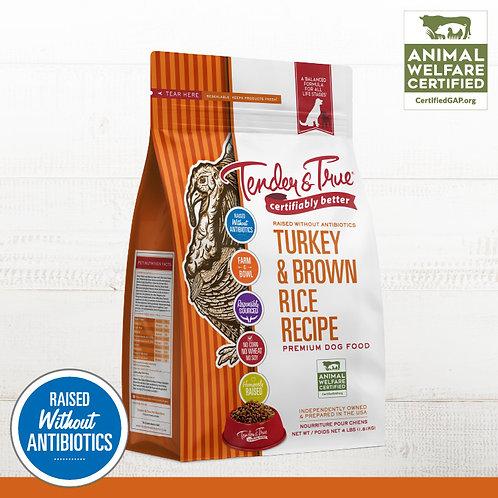 Tender & True Turkey & Brown Rice Dry Dog Food