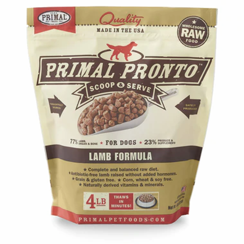 Primal Lamb Frozen Pronto 4lbs