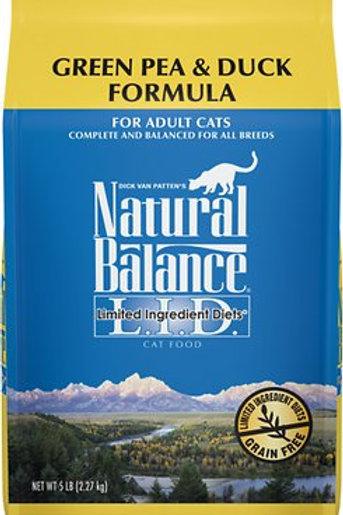 Natural Balance L.I.D. Green Pea & Duck Grain Free Dry Cat Food