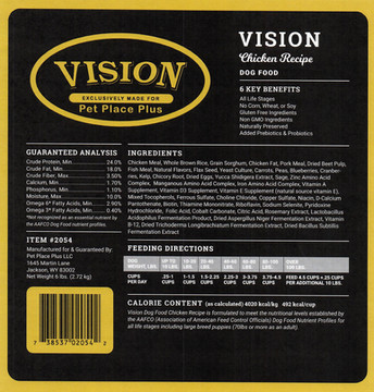 Vision Chicken Recipe