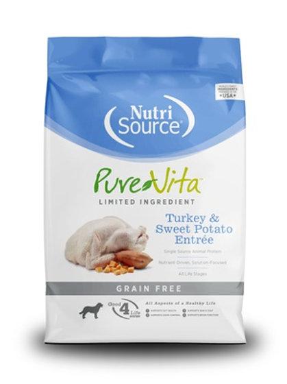 PureVita Grain Free Turkey & Sweet Potato Dry Dog Food