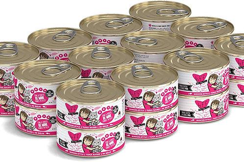 BFF Be Mine Tuna & Bonito Canned Cat Food, 5.5-oz, case of 24