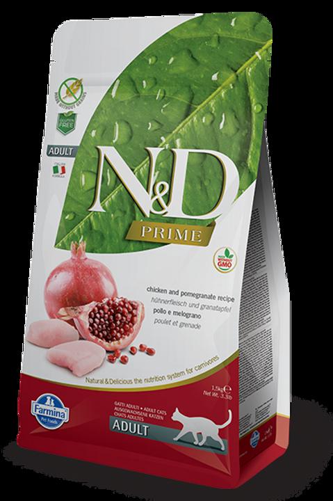 Farmina N&D Prime Chicken & Pomegranatea Dry Cat Food