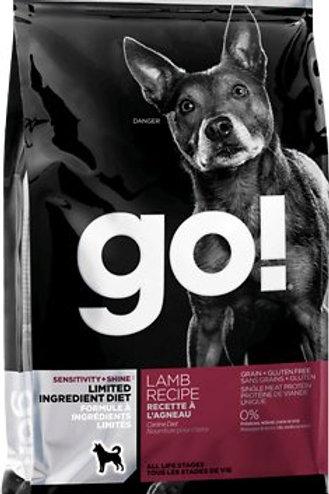 Petcurean Go! Grain Free LID Lamb Dry Dog Food