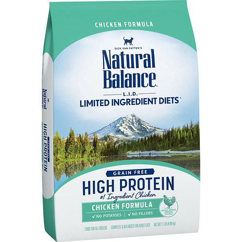Natural Balance L.I.D. High Protein Chicken Formula Cat Dry Food