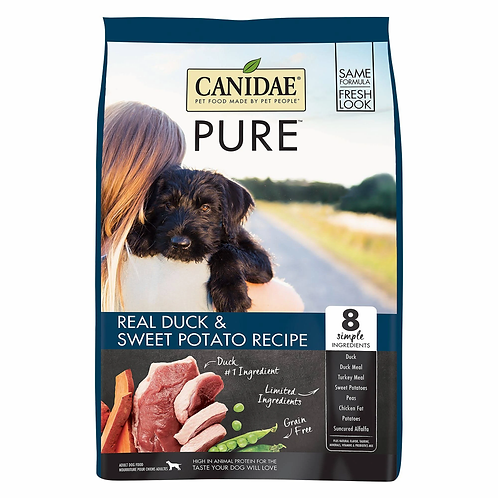 Canidae PURE Grain Free Duck Limited Ingredient Diet Adult Dry Dog Food