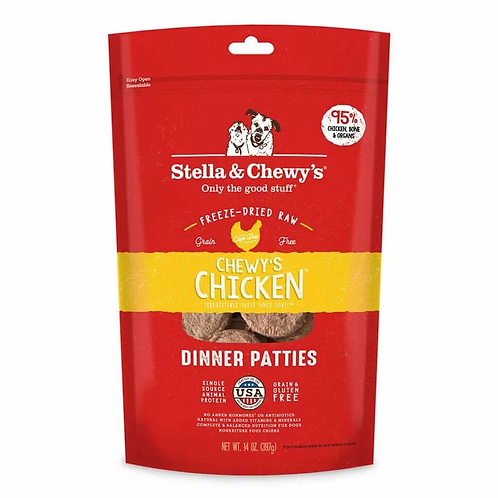 Stella & Chewy's Chicken Freeze-Dried Dinner Patties