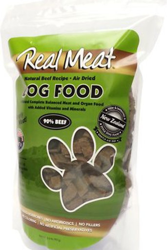 The Real Meat Company 90% Beef Grain-Free Air-Dried Dog Food
