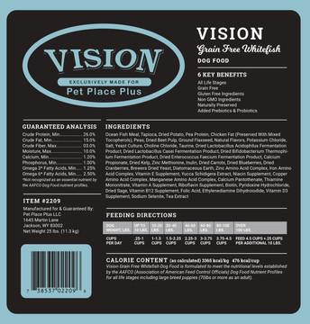 Vision Grain Free Whitefish