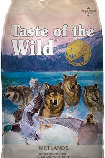 Taste of the Wild Wetlands with Roasted Fowl Grain-Free Adult Dry Dog Food