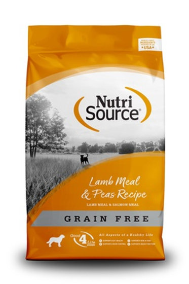 NutriSource Grain Free Lamb & Pea Dry Dog Food