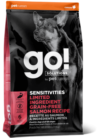 Petcurean Go! Grain Free LID Salmon Dry Dog Food