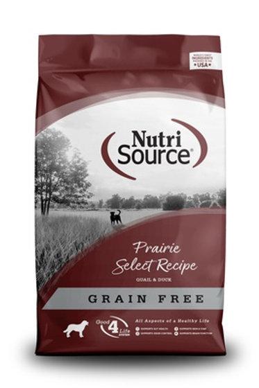 NutriSource Grain Free Prairie Select Dry Dog Food