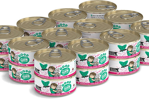 BFF Valentine Tuna & Pumpkin Canned Cat Food, 5.5oz, case of 24