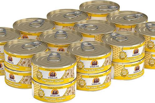 Weruva Paw Lickin' Chicken in Gravy Canned Cat Food, 5.5-oz, case of 24