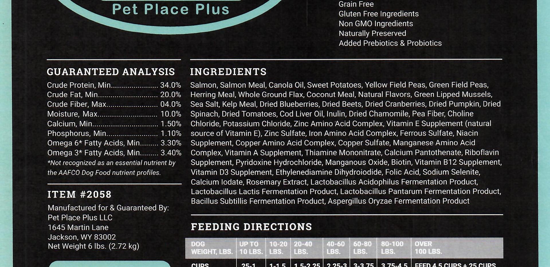 Vision Grain Free Salmon