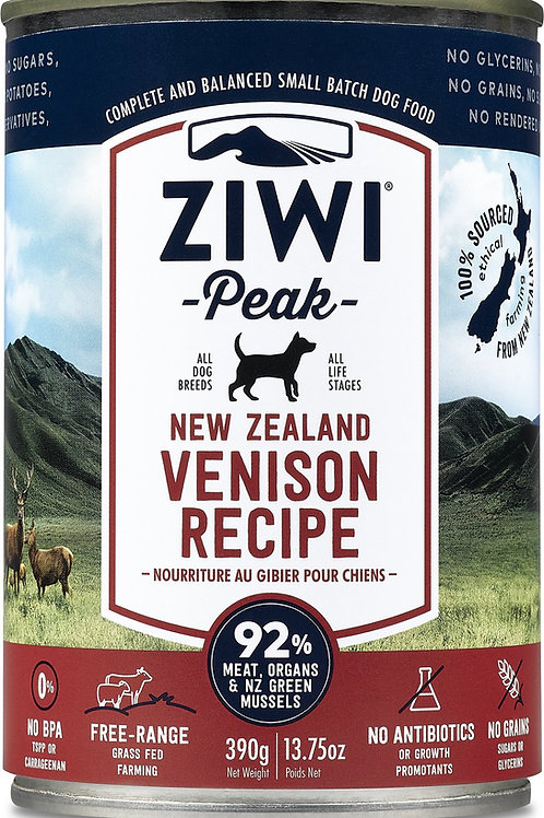Ziwi Peak Dog Venison Recipe Canned Dog Food, 13.75-oz, case of 12