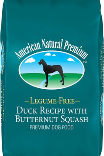 American Natural Premium Legume Free Duck with Butternut Squash Dry Dog Food