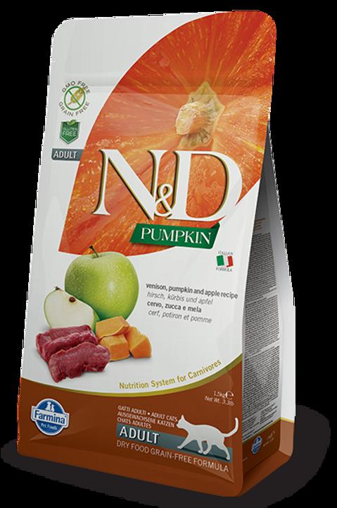 Farmina N&D Pumpkin Venison & Apple Dry Cat Food