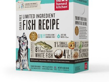 The Honest Kitchen Limited Ingredient Diet Fish Recipe Grain-Free Dehydrated Dog