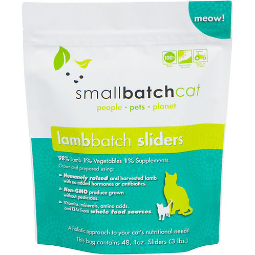 Small Batch Cat Frozen Lamb Sliders