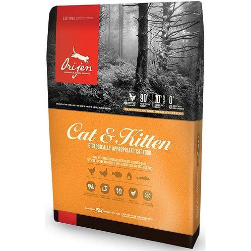 ORIJEN Cat and Kitten Grain Free Dry Cat Food