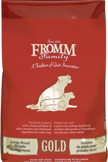 Fromm Gold Weight Management Large Breed Dry Dog Food