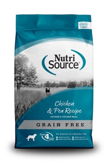 NutriSource Grain Free Chicken & Pea Dry Dog Food