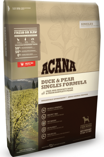 ACANA Singles Limited Ingredient Duck & Pear Dry Dog Food