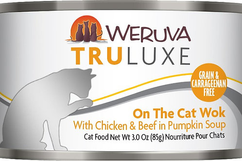 Weruva Truluxe On The Cat Wok Canned Cat Food, 6oz, case of 24