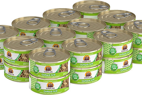 Weruva Outback Grill Trevally & Barramundi Canned Cat Food, 5.5oz, case of 24